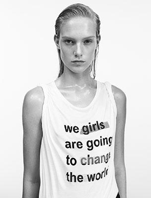 camiseta deportiva mujer Mango