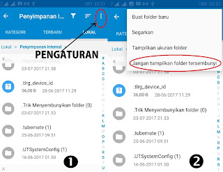 Trik Menyembunyikan Folder di HP Android tanpa aplikasi