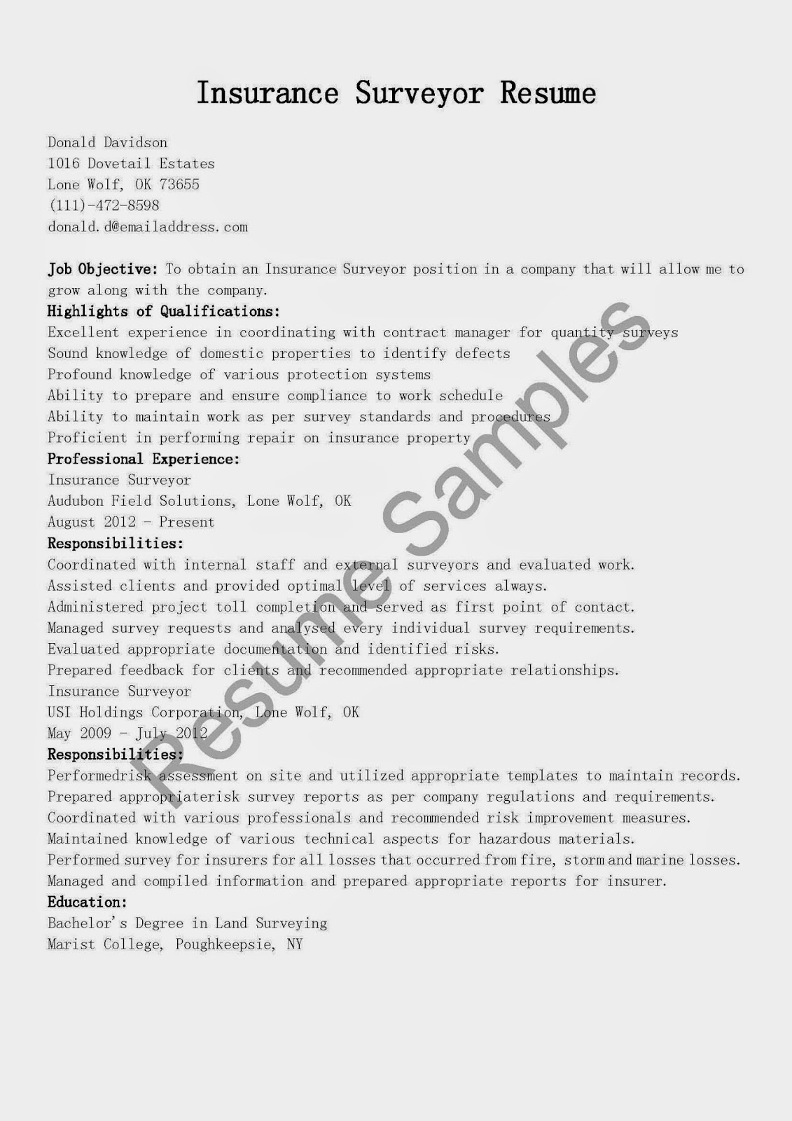 Sample Resume For Underwriting Assistant Project Cover Letters And Insurance