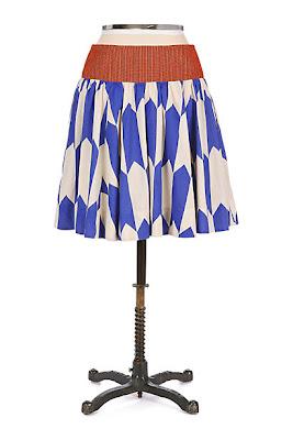 Anthropologie Thattaway Skirt by Fei