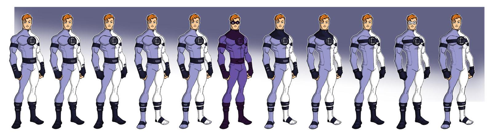 Character Design Hire : Ralph dibny the world famous elongated man deviantart update