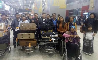 """Ciento dos miembros de la comunidad judía de la India, también conocida como la tribu """"Bnei Menashe"""", que remontan su herencia a uno de los clanes perdidos de Israel, arribarán esta semana al aeropuerto de Ben Gurion."""