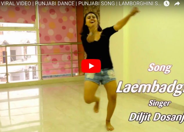 H0t Girl Viral Dance On Punjabi Song Bsynews Com