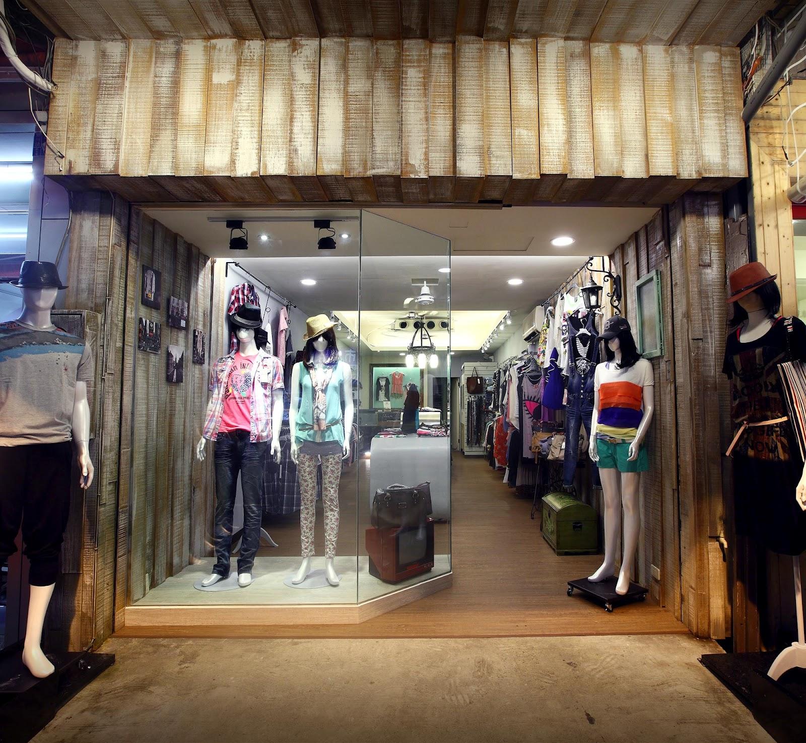 hoodesign+: 潮州流行服飾店改裝...