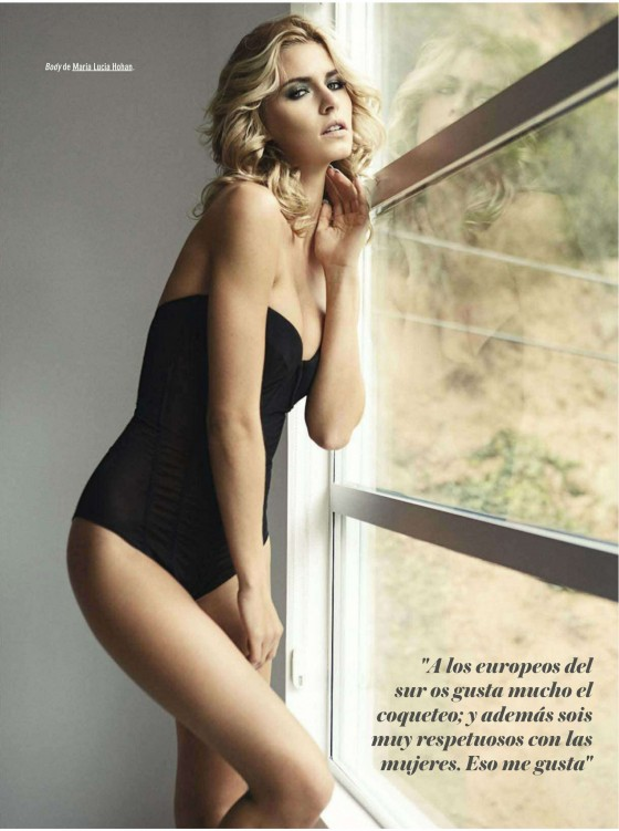 Lena Gercke GQ Spain Magazine 2012