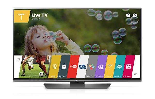 TV LED besutan LG dengan fitur web browser