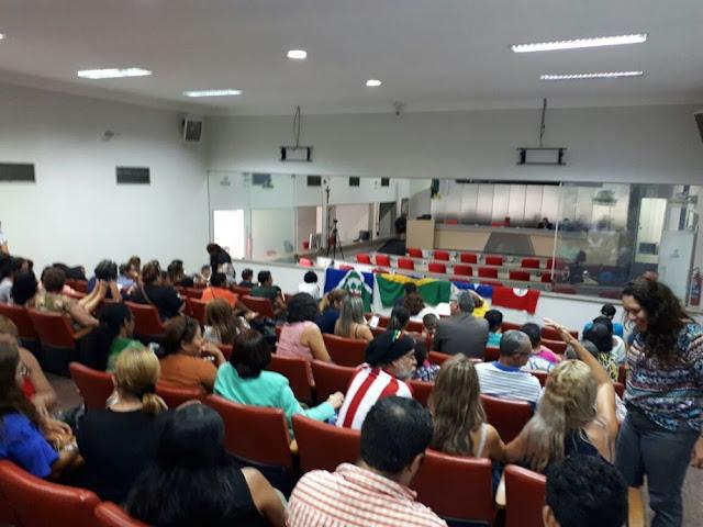 Galeria principal da Assembleia Legislativa, em Porto Velho