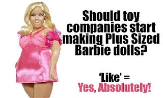 Barbie Plus-Size