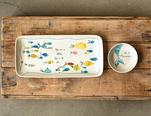 Nautical Serving Platters