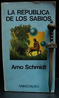 Portada del libro La república de los sabios, de Arno Schmidt