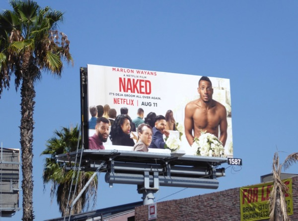 Naked Netflix movie billboard