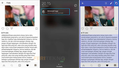 cara copy paste tulisan di instagram 4