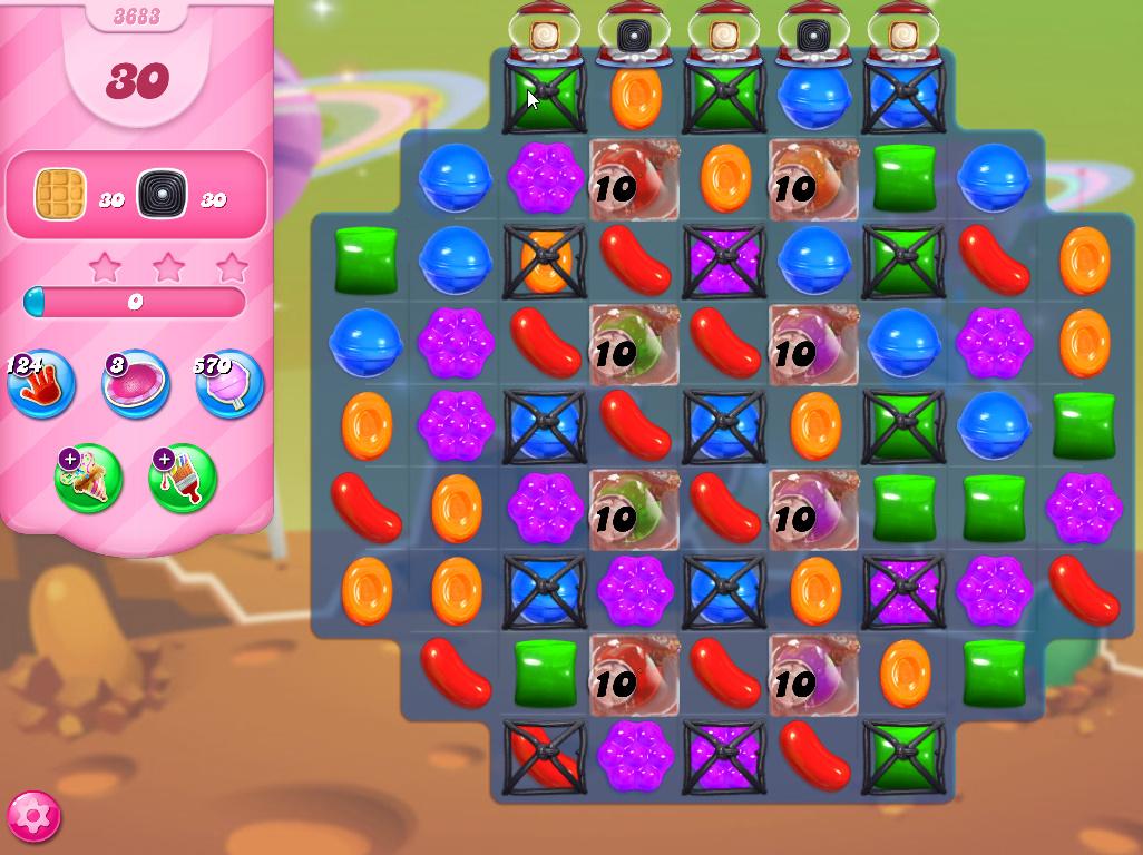 Candy Crush Saga level 3683