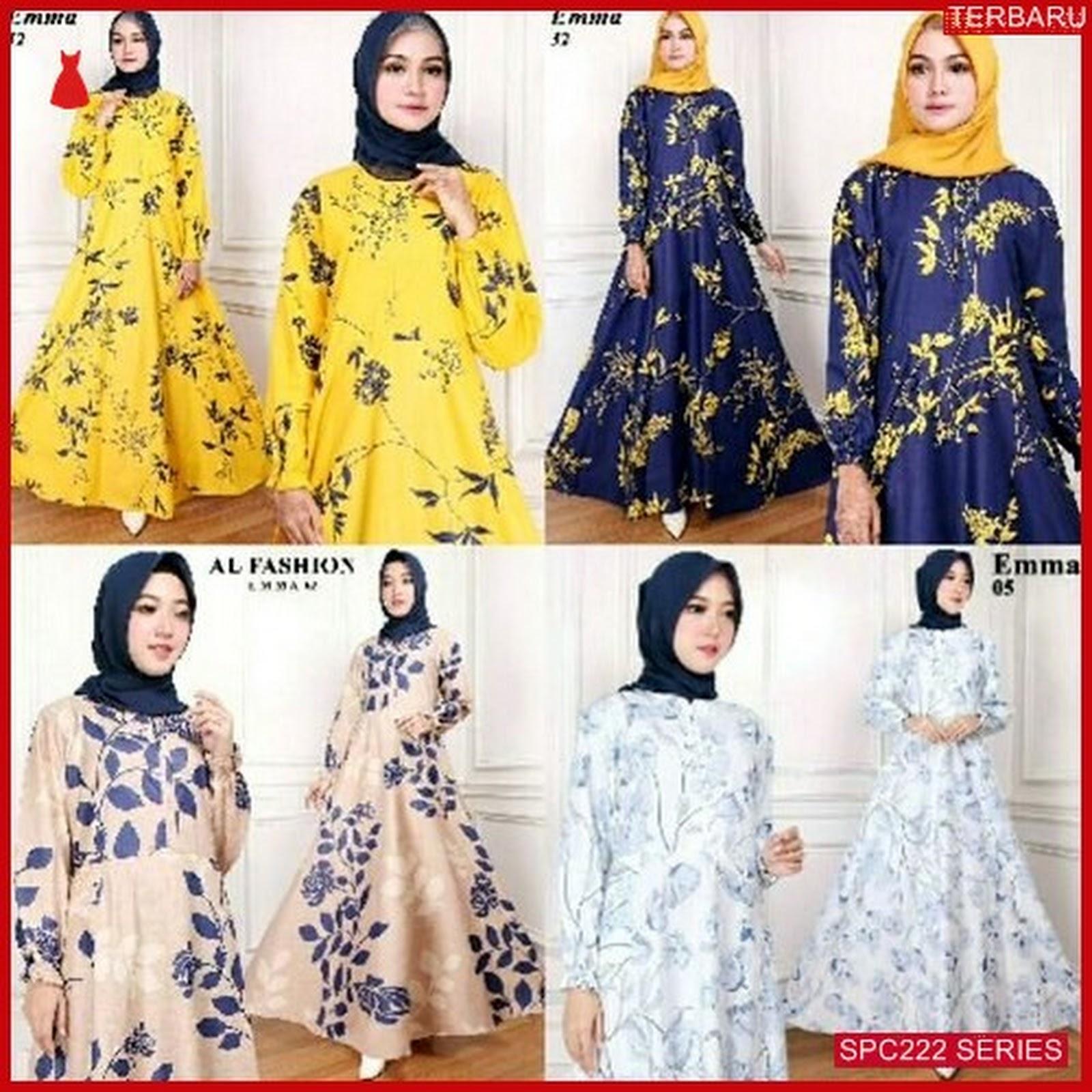 SPC222G79 Gamis Emma Maxy Syari Dress Muslim Wanita  0f28ce2857