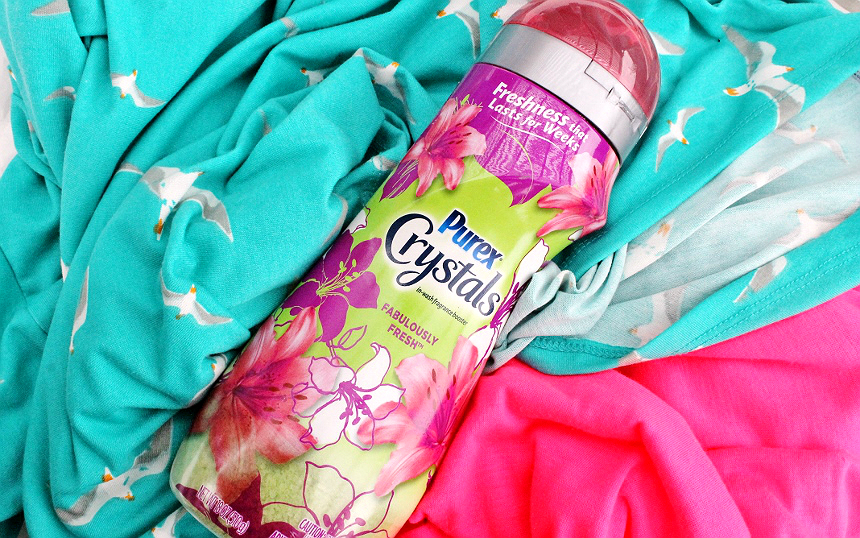 Discover #PurexCrystalFresh with up to 12 weeks of freshness when you use one of 10 amazing Purex Crystals in wash fragrance booster scents. #AD