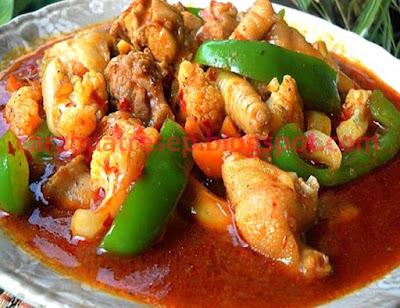 Foto Resepi Ayam Masak Paprik Ala Thai Paling Sedap Spesial Kuah Merah Pedas Asli Enak