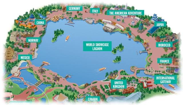 Parque Disney Epcot en Orlando
