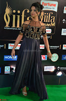 Sanjjanaa Galrani aka Archana Galrani in Maroon Gown beautiful Pics at IIFA Utsavam Awards 2017 11.JPG