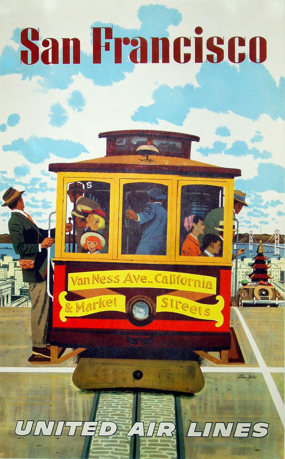 ART & ARTISTS: Vintage Travel Posters - part 5