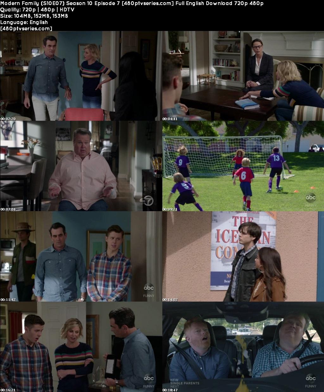 Modern Family (S10E07) Season 10 Episode 7 Full English Download 720p 480p