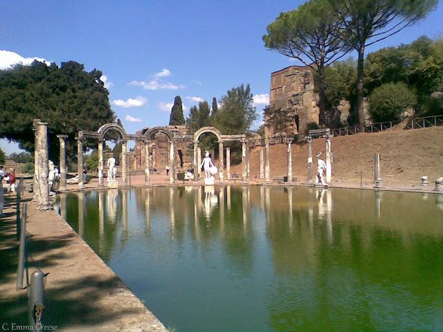 Hadrian's Villa Tivoli Italy UNESCO