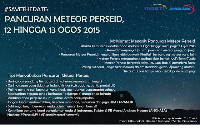 Meteor Perseid Malaysia