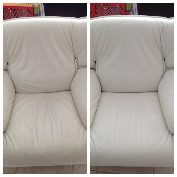 Sanitize Leather Sofa