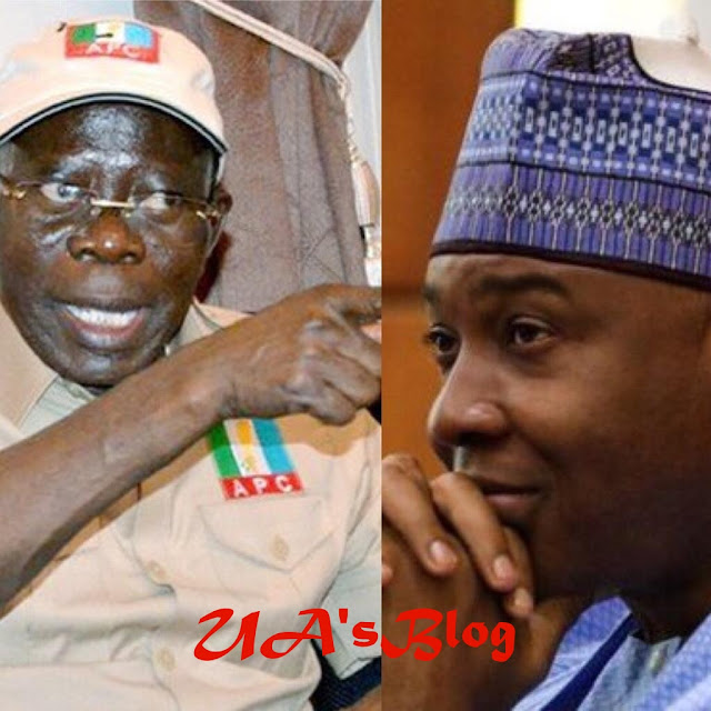Saraki Will Be Retired From Politics In 2019 — Oshiomhole