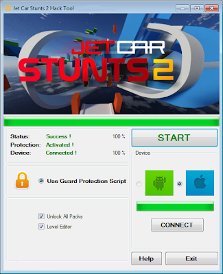 Jet Car Stunts 2 Hack