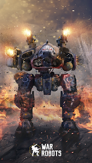 Griffin wallpaper war robots