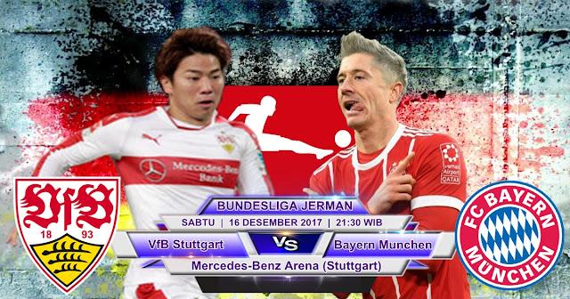BOLA 365 - Prediksi VfB Stuttgart vs Bayern Munchen 16 Desember 2017