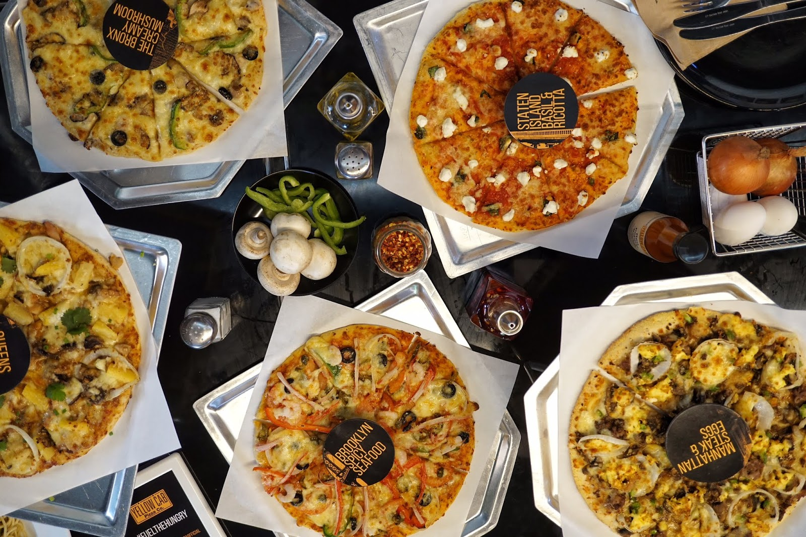 Yellow Cab Launched Five New Mouthwatering Flavors Last September 5 To Add To Its Roster Of Amazing Pizzas Highlighting The Essence Of New Yorks Famed