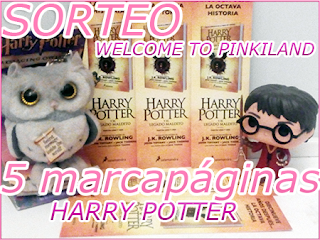 [Sorteo] 5 marcapáginas Harry Potter y el legado maldito  Read more: https://welcometopinkiland.blo