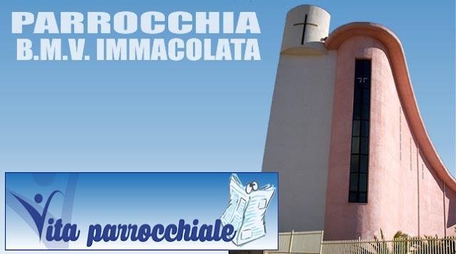PARROCCHIA B.M.V. IMMACOLATA - Avvisi dal 26 Marzo al 01 Aprile 2018