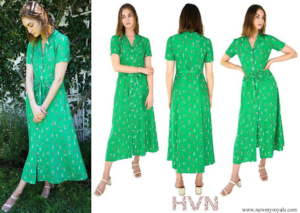 Kate Middleton wore HVN Tennis Long Maria Dress