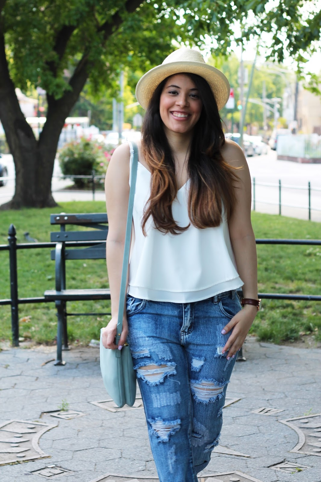 Two Summer Looks With Shop Tobi Distressed Skinny Jeans -4404