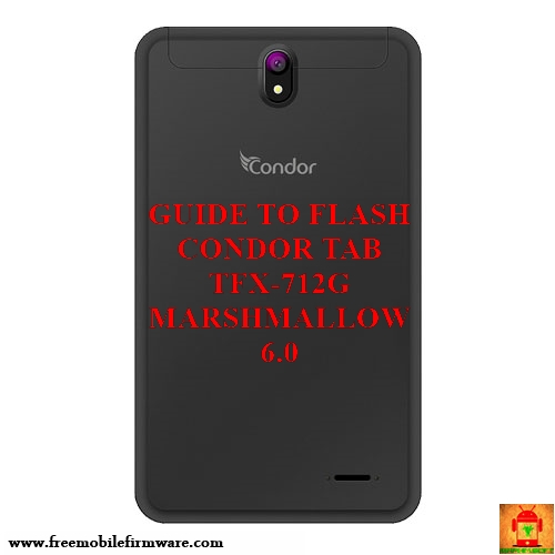 firmware tablette condor tfx712g