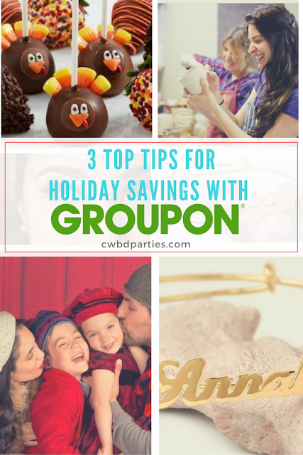 3 Top Tips for Holiday Gifts & Savings with Groupon Coupons