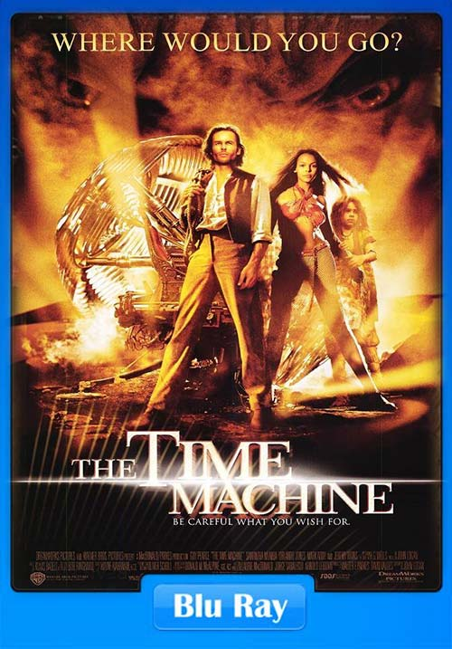 The Time Machine 2002 BRRip 720p x264 | 480p 300MB | 100MB HEVC