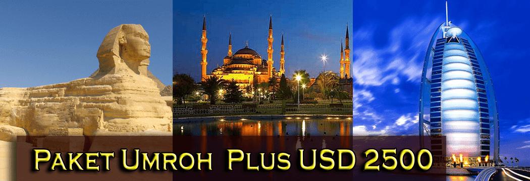 Harga Lengkap Umroh Plus Turki