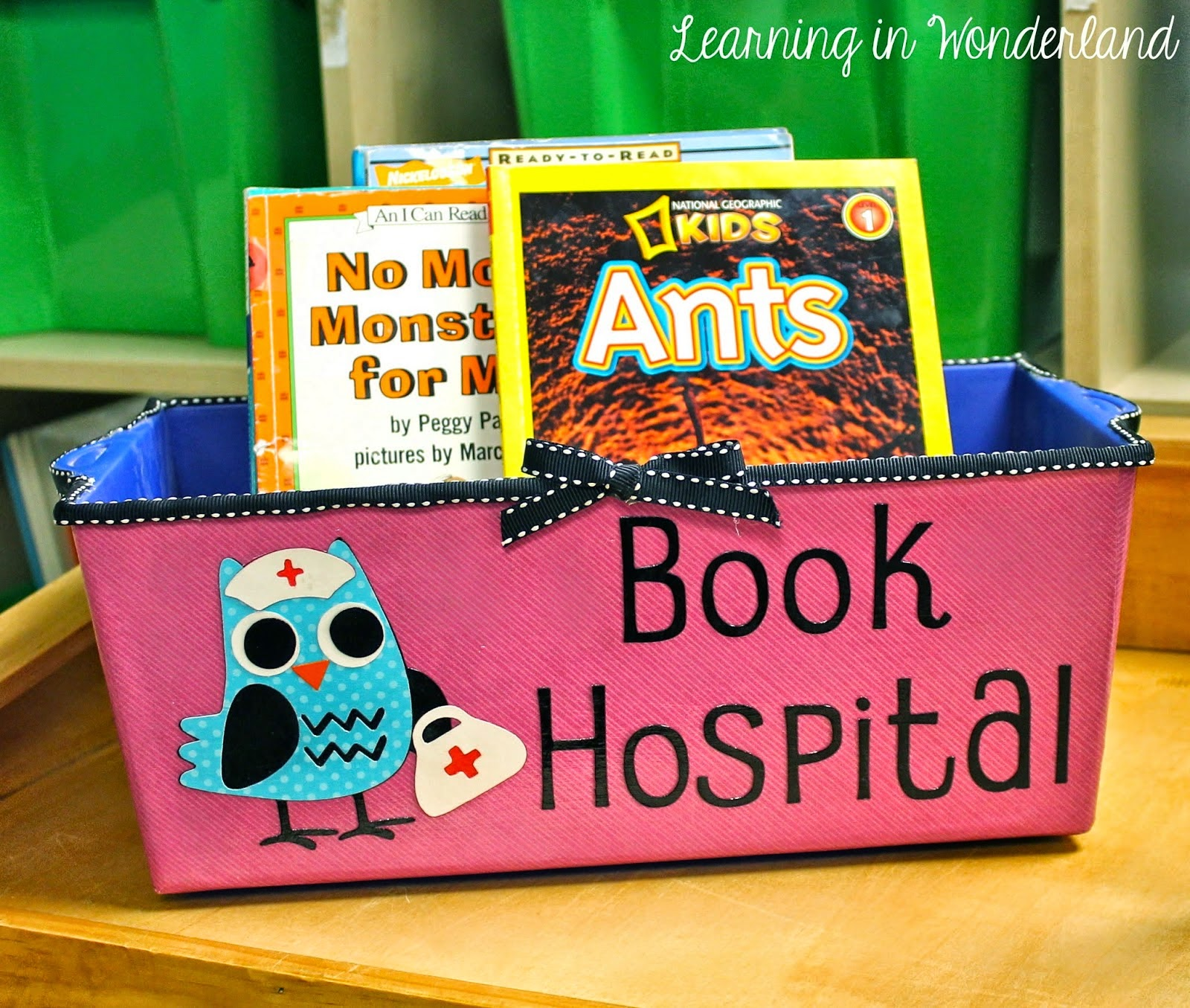 Classroom Book Ideas ~ Book hospital a bright idea for classroom library
