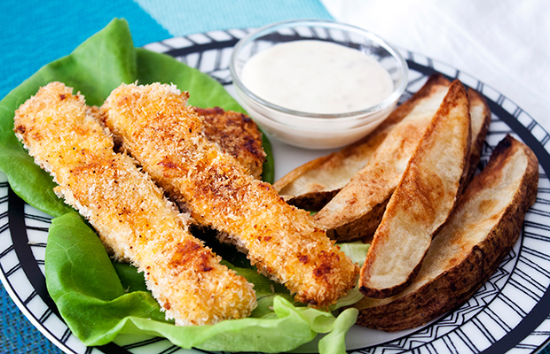 Baked Fish & Chips