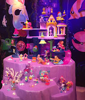My Little Pony Seaquestria and Brushables Display