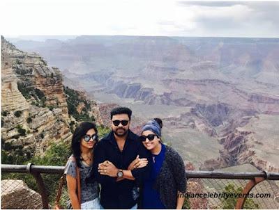 Dileep and Meenakshi at Grand Canyon