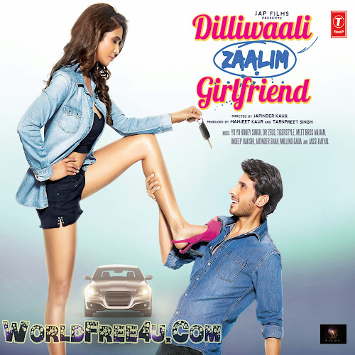 Poster Of DilliWaali Zaalim Girlfriend (2015) All Full Music Video Songs Free Download Watch Online At worldfree4u.com