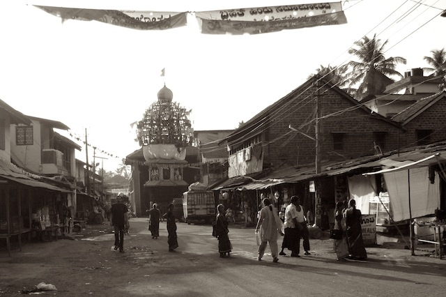 Valokuva Intian Gokarnasta, v. 2007