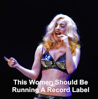 Lady Gaga running a record label image