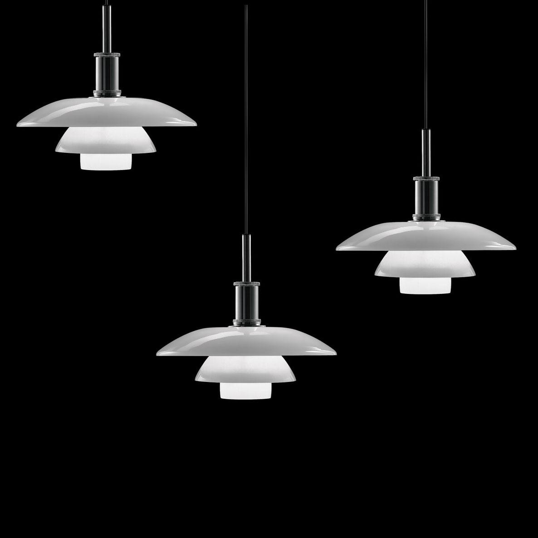Lighting: Mid Century Modern Hanging Pendant Light Lamp