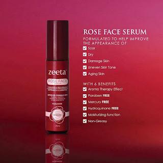 Rose face Serum Zeeta