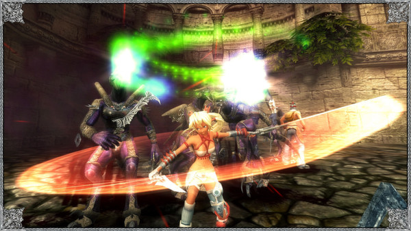 X-Blades PC Game Free Download Screenshot 1